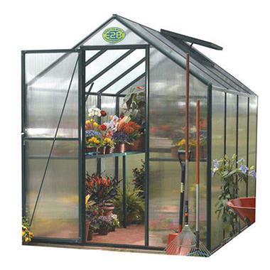 Easygrow Backyard Hobby Greenhouse - 6' x 8'