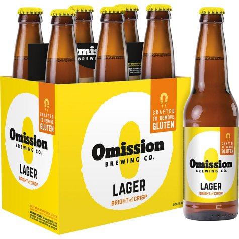 Omission Brewing Lager (12 fl. oz. bottle, 6 pk.)