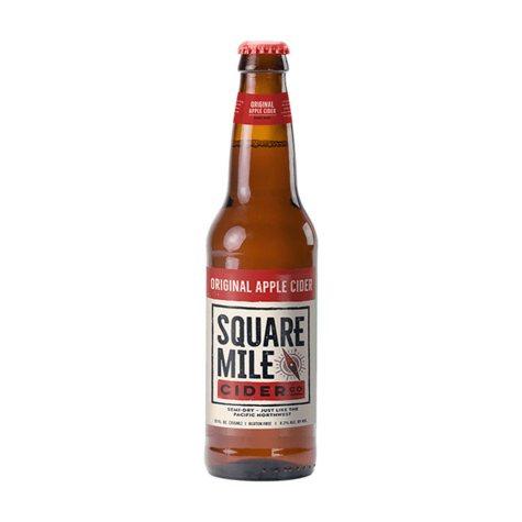 Square Mile Original Hard Apple Cider (12 fl. oz. bottle, 6 pk.)