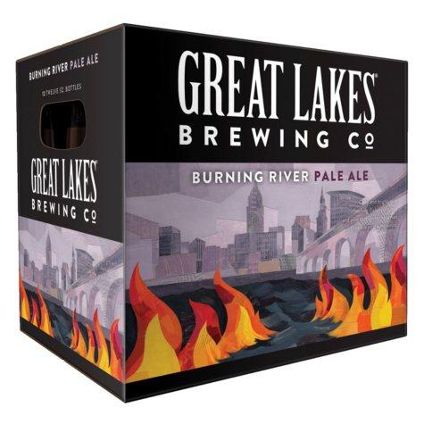 Great Lakes Burning River Pale Ale (12 fl. oz. bottle, 12 pk.)