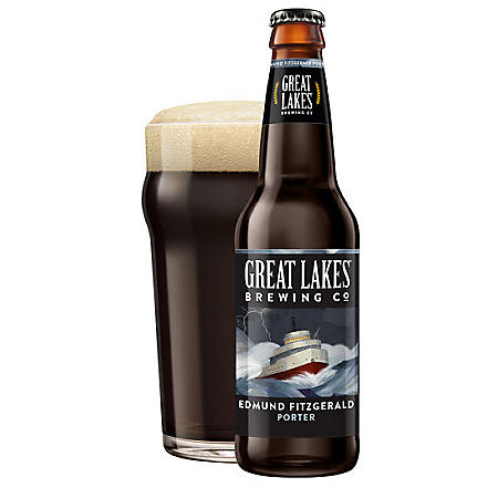 Great Lakes Edmund Fitzgerald Porter (12 fl. oz. bottle, 12 pk.)