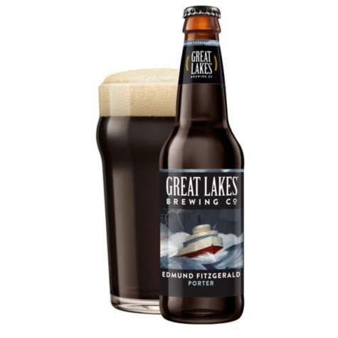 Great Lakes Edmund Fitzgerald Porter (12 fl. oz. bottle, 12 pk.)