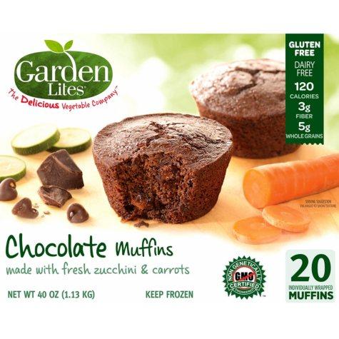 Garden Lites Gluten-Free Dairy-Free Chocolate Muffins (20 ct.)
