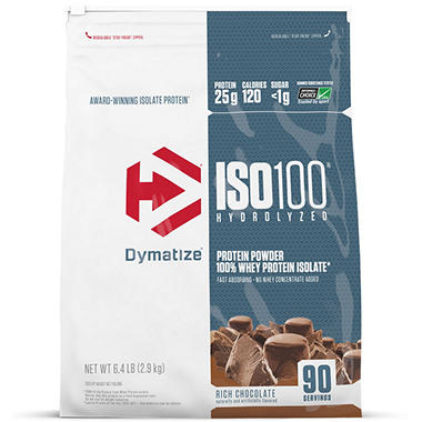 מגניב ביותר Dymatize ISO100 Hydrolyzed 100% Whey Protein Isolate Powder, Rich VP-83