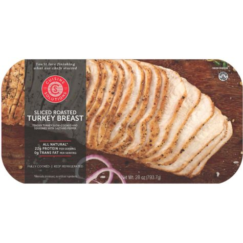 Cuisine Solutions Sliced Roasted Turkey Breast (1.75 lbs.)