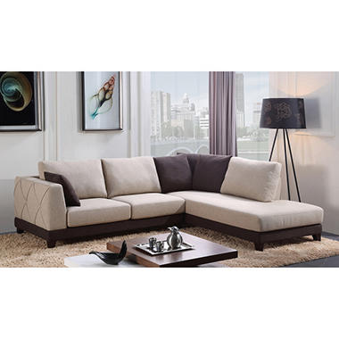 Superior Paris 2 Piece Sectional Sofa