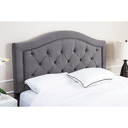 Sullivan Velvet Upholstered Headboard (Assorted Options)