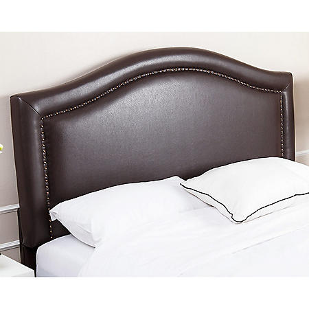 Sofia Leather Upholstered Headboard (Assorted Sizes)