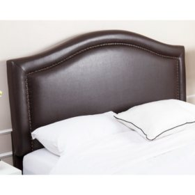 Sofia Leather Upholstered Headboard Orted Sizes