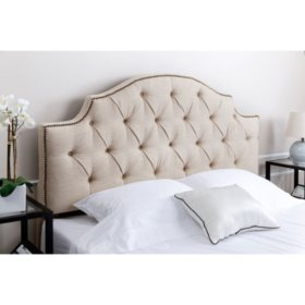 Stella Tufted Headboard, Full/Queen (Assorted Colors)