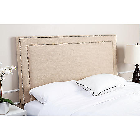 Lafayette Upholstered Headboard, Queen/Full (Assorted Colors)