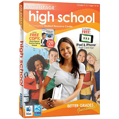 Advantage 2012 High School with Mavis Beacon Deluxe - PC/Mac