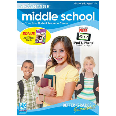 Encore - Middle School Advantage w/ Math Advantage - PC/Mac