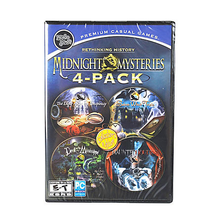 MIDNIGHT MYSTERY 4PK PC GAMES