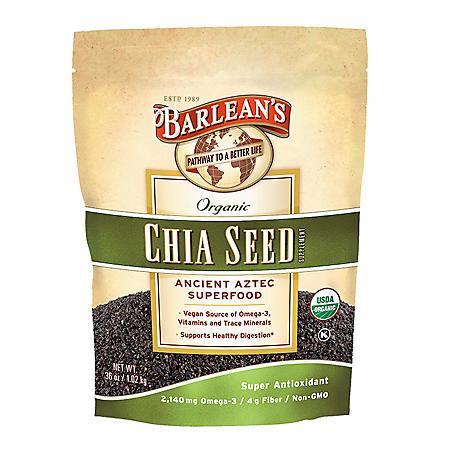 Barlean's Organic Chia Seed (36 oz.)