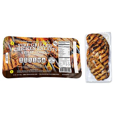 Tru Grill Fire-Grilled Chicken Breasts (24 oz., 6 ct.)