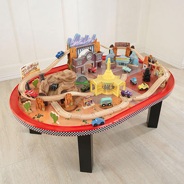 Radiator Springs Race Track Set Table Sam S Club