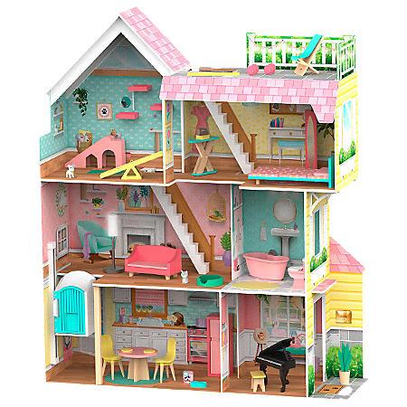 KidKraft Mia's Mansion Pet Loft Dollhouse
