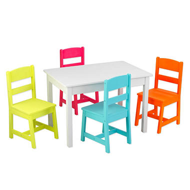 Highlighter Table And Chairs Set Sam S Club