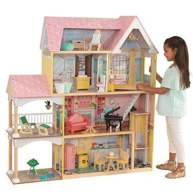 Kidkraft Lola Mansion 4 Dollhouse Sam S Club