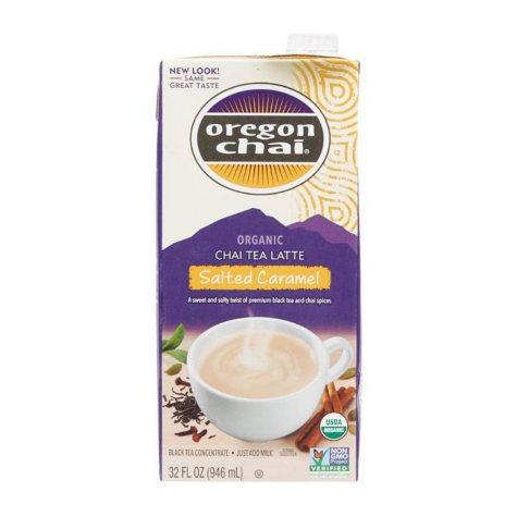 Oregon Chai Organic Salted Caramel Chai Tea Latte (32 fl. oz.)