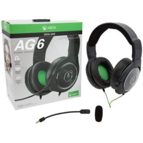 PDP Afterglow AG6 Wired Stereo Headset for Xbox One