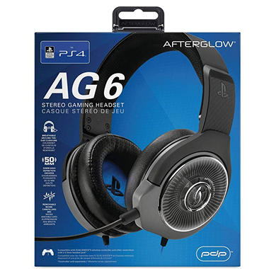 PDP Afterglow AG6 Wired Stereo Headset for PlayStation 4 - Sam s Club eace32a898532
