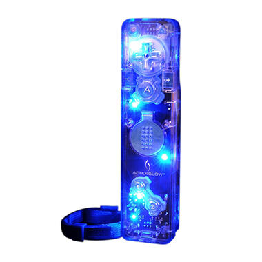 PDP Blue Afterglow Remote for the Wii