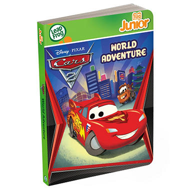 LeapFrog® Tag™ Junior Book: Disney·Pixar Cars 2: World Adventure