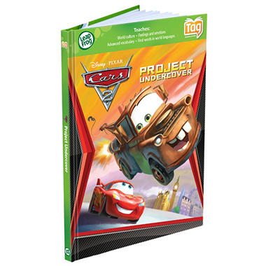 LeapFrog® Tag™ Activity Storybook: Disney Pixar Cars 2: Project Undercover