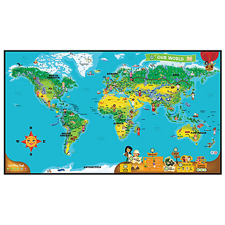 LeapFrog® Tag™ Interactive World Map