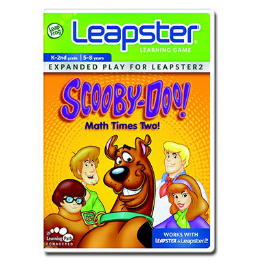 LeapFrog® Leapster: Scooby-Doo, Math Times Two
