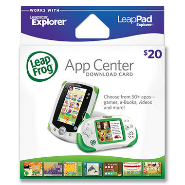 LeapFrog® App Center Download Card