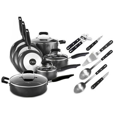 Hamilton Beach® Elite Nonstick Cookware Set - 17 pc.