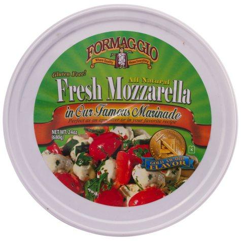 Formaggio Marinated Mozzarella Salad (24 oz.)