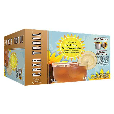 Caza Trail Summer's Iced Tea & Lemonade, Single Serve (72 ct.)