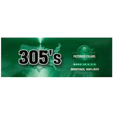 305's Menthol 100's Box (20 ct., 10 pk.)