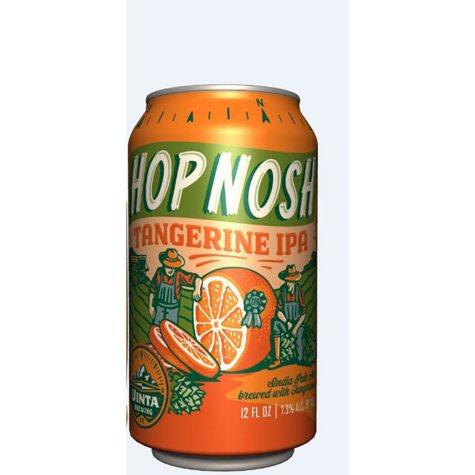 Uinta Hop Nosh Tangerine IPA (12 fl. oz. can, 6 pk.)