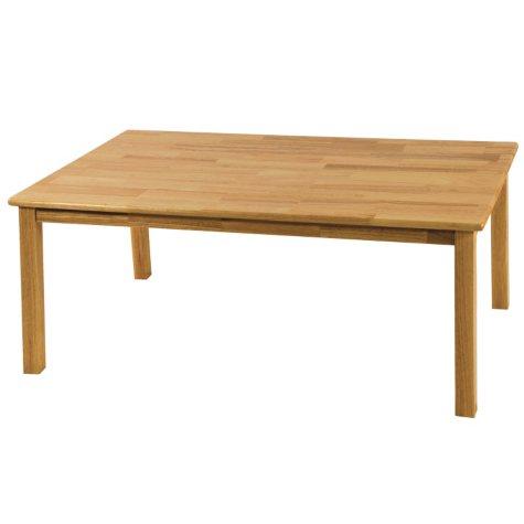"ECR4Kids 30"" x 48"" Rectangular Hardwood Table, Select Size"