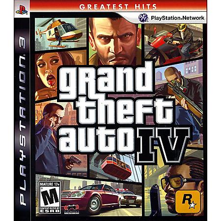 PS3 GTA GH IV INLINE CATALOG ASST.