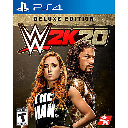 WWE 2K20 Deluxe Edition (Playstation 4)