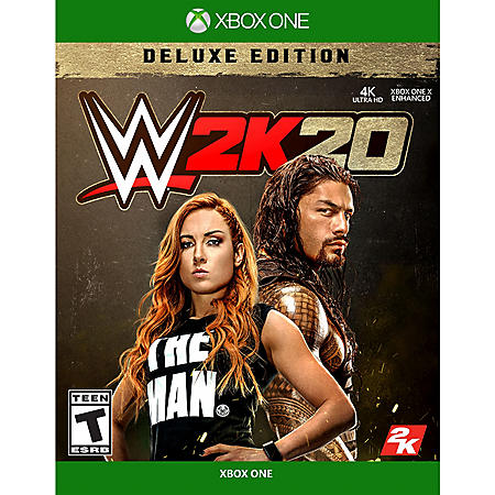 WWE 2K20 Deluxe Edition (Xbox One)