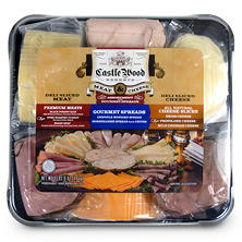 Castle Wood Meat & Cheese Party Tray (3.65 lb.)