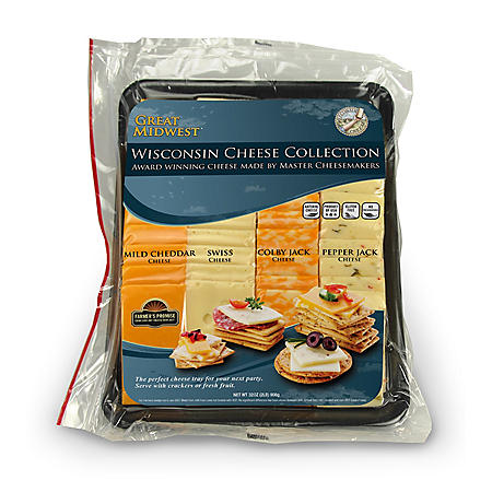 Great Midwest Variety Cheese Tray (2 lbs.)