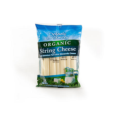 Organic Creamery Organic String Cheese (1 oz., 18 ct.)