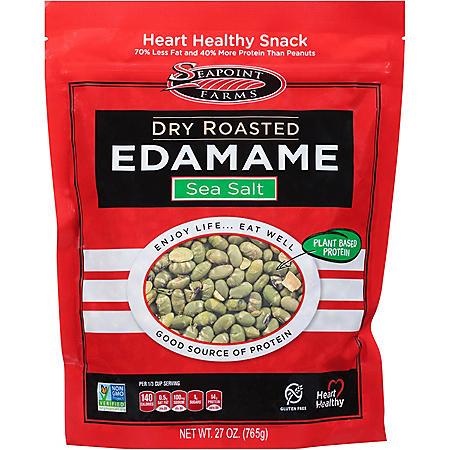 Dry Roasted Edamame With Sea Salt (4 oz.)