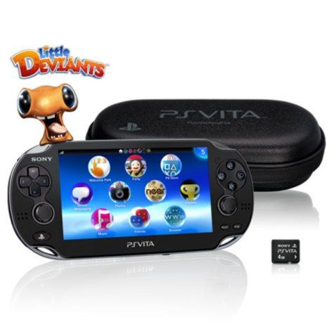 PS Vita 3G First Edition Bundle