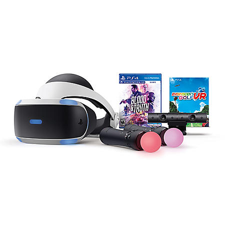 PlayStation®VR Blood & Truth and Everybody's Golf Bundle (PlayStation 4)