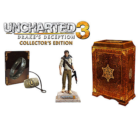 Uncharted 3 Drake S Deception Collector S Edition Ps3 Sam S Club