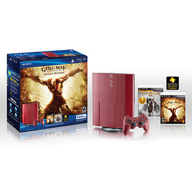 PS3 500GB God of War: Ascension™ Legacy Console Bundle